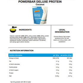 PowerBar Deluxe Protein Bag 500g, Coconut